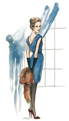 The Sketch Book – Inslee Haynes / Fashion Illustration by Inslee / Page 5 on imgfave Art And Illustration, Fashion Design Sketches, Fashion Drawings, Fashion Art, Fashion Trends, Illustrators, Art Drawings, Artsy, Fashion Illustrations