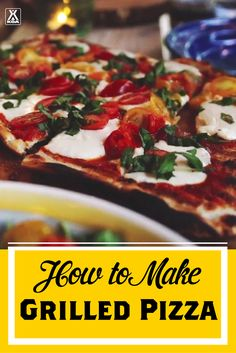 How to Make Grilled Pizza - a #KOACamping Recipe