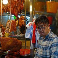 Boucher à Wanchai - Hong Kong