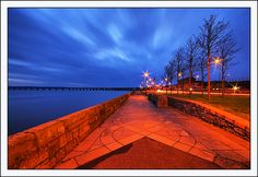Riverside Dundee ~ Cool Blue View