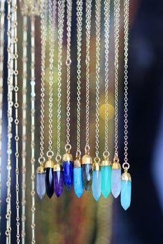 DROP point necklace