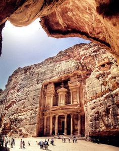 petra, jordan. probably #1 on places i need to see