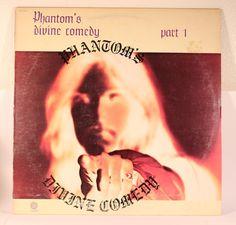 Phantom - Phantom's Divine Comedy Part 1 - Capitol - USA, 1974 Lp Cover, Cover Art, Progressive Rock, Album Covers, Comedy, Psych, Metal, Vintage, Metals