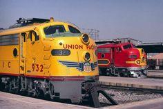 EMD diesel locomotives: classics!