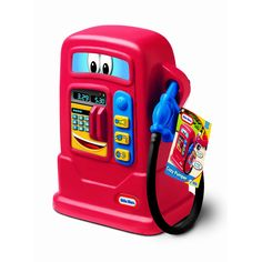 This fun toy gas pump is a perfect match for your Little Tikes cars and coupes. Designed with three weatherproof electronic fuel buttons that make six fun sounds when kids stop to fill up.