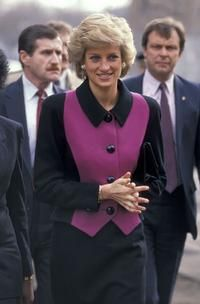 February 2, 1989: Princess Diana during her visit in New York.