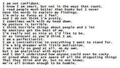 I am not confident....