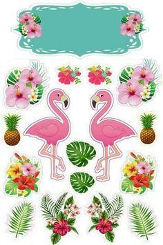 Cumple Cata Flamingo Party, Flamingo Cake, Flamingo Decor, Flamingo Birthday, Aloha Party, Luau Party, Creation Bougie, Pool Party Themes, Party Decoration