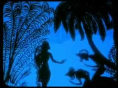 The Adventures of Prince Achmed - the scene in which Prince Achmed encounters the beautiful Pari Banu
