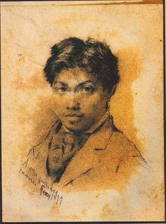 Juan Luna y Novicio (Philippines, 1857-1899) – Self-portrait (1879) National Museum of the Philippines