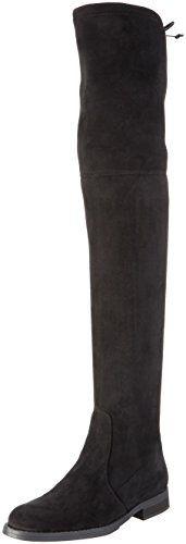 Buffalo London Damen 2870 Micro Strech Langschaft Stiefel…