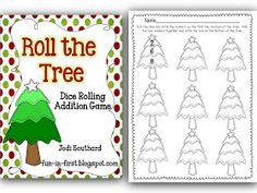 Fun in First Grade: Day 10 of Christmas Freebies