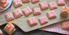 Glazed Shortbread Cookies from our sweets columnist, @Kristen Massad of #InkFoods! Perfect #MothersDay treat!