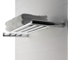 Steel bathroom wall shelf Tango Collection by Zazzeri _