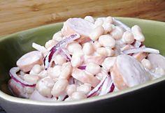 13 saláta lila hagymával, ami kevesebb, mint egy óra alatt kész | NOSALTY Veggie Recipes, Salad Recipes, Cooking Recipes, Healthy Food Options, Healthy Recipes, Cold Dishes, Potato Salad, Food Porn, Food And Drink