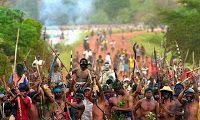 Disso Voce Sabia?: Brasil: Invasão de terras, Indígenas Declaram Guerra! (Vídeo )