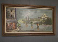 Beautiful Vintage Oil Painting on Canvas