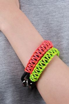 Bracelet Parachute Cord And Bungee
