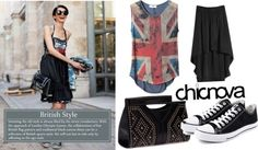 """""""Street Style-British Style"""" by chicnova on Polyvore"""