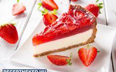 Eperzselés sajttorta recept fotóval Cheesecake, Desserts, Food, Tailgate Desserts, Deserts, Cheesecakes, Essen, Postres, Meals