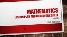 Lesson plan, worksheet and memo Homework Sheet, Grade 6 Math, Multiplying Fractions, Integers, Child Life, Management Tips, Mathematics, Lesson Plans, Worksheets
