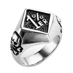 PiercingJ Punk Rock Gothic Vintage Mens Stainless Steel Band Ring, 1%ER biker Cl... PiercingJ http://www.amazon.com/dp/B00PZID28Y/ref=cm_sw_r_pi_dp_YNsBvb09JEZ2R