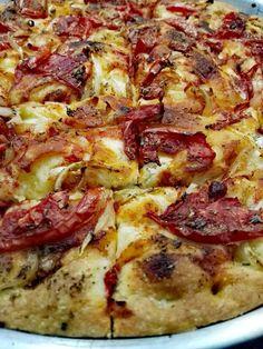 Λαδένια Κιμώλου Greek Recipes, Hawaiian Pizza, Food, Essen, Greek Food Recipes, Meals, Yemek, Greek Chicken Recipes, Eten