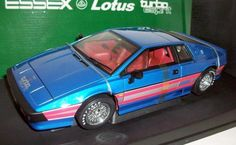 AUTOART 1/18 - 70066 LOTUS ESPRIT TURBO ESSEX VERSION - BLUE RHD #AUTOART