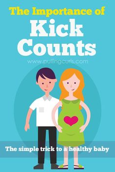 How to do kick counts - kick counts pregnancy - healthy baby