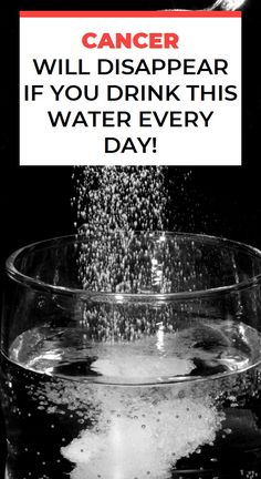 Cancer Will Disappear If You Drink This Water Every Day! Herbal Remedies For Depression, Natural Teething Remedies, Natural Home Remedies, Health Vitamins, Cancer Cure, Natural Health, Natural Herbs, Health Remedies, Health