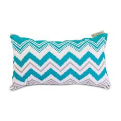 Revisit the mod 1960s with this fabulous, retro Serpentine Outdoor Pillow - Small. Remember the bold zigzag motif? It's back, and these colors are fantastic. Accent a solid or coordinating patterned se...  Find the Serpentine Outdoor Pillow - Small, as seen in the Outdoor Pillows Collection at http://dotandbo.com/category/decor-and-pillows/pillows/outdoor-pillows?utm_source=pinterest&utm_medium=organic&db_sku=94455