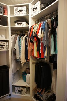 Custom walk-in Pax closet | IKEA Hackers Clever ideas and hacks for your IKEA