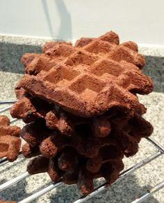 Elke Hap: Brownie wafels