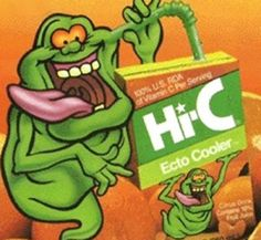 The 50 Greatest Discontinued '90s Foods and Beverages: Ecto Cooler Juice Boxes