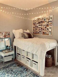 Cute & Cool Dorm Room Ideas That You Need To Copy #bedroomideas #dormroomideas #...,