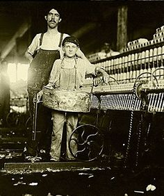 Lewis Hines child labor photo