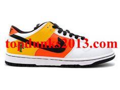Online Raygun Away White Orange Black White Nike Dunk Low SB White Nikes fcd29317e29f