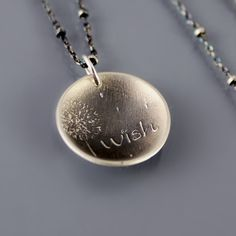 Image of Dandelion Wish Necklace