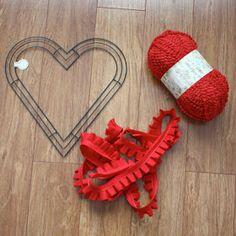 Amy Cornwell Designs: Tuesday Tutorial: Valentine Heart Wreath