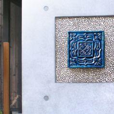 sotoyashop-ex: Accent tiles wall décor + irakato (Erakat) tile tiles 100 Hana 2 tip will decorate iraka Japanese Garden Style, Garden Styles, Wall Tiles, Wall Decor, Exterior, Frame, Home Decor, Room Tiles, Wall Hanging Decor