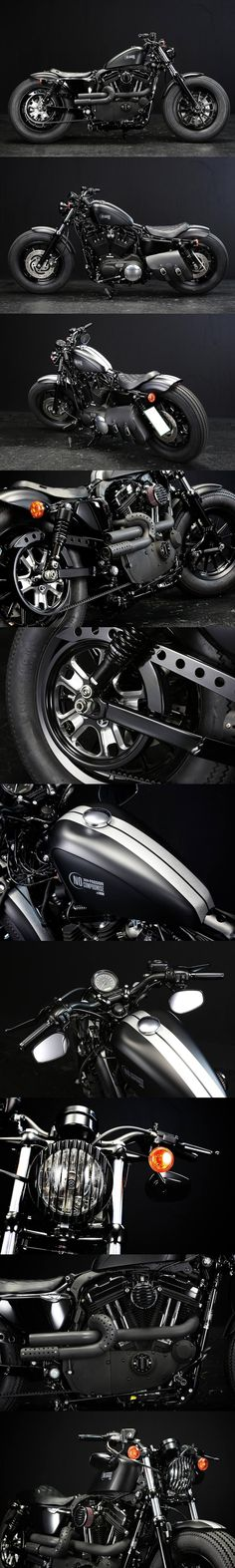 Harley-Davidson Sportster 48 Custom from Rough Crafts Call S .- Harley-Davidson Sportster 48 Custom von Rough Crafts Rufen Sie heute an oder sch… Harley-Davidson Sportster 48 Custom from Rough Crafts Call Today or Watch … – Motorcycles – - Harley Davidson Sportster, Sportster 48, Harley Davidson Chopper, Harley Dyna, Chopper Motorcycle, Motorcycle Style, Motorcycle Helmets, Motorcycle Fashion, Women Motorcycle