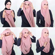 Muslim New Hijab Cap Scarf Headwrap Islamic Women Soft Chiffon Turban Shawls Find great deals for Muslim New Hijab Cap Scarf Headwrap Islamic Women Soft Chiffon Turban Shawls. Muslim Fashion, Hijab Fashion, Middle Eastern Clothing, Instant Hijab, Hijab Style Tutorial, Hijab Caps, Chiffon Shawl, Muslim Hijab, Islamic Clothing