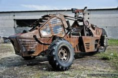 Post-Apocalyptic Commuter Vehicle - Neatorama