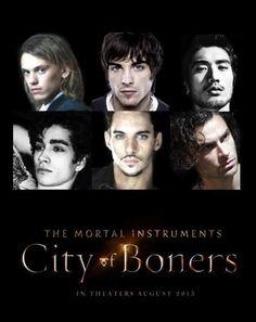 The Mortal Instruments: City of Bones movie!!!