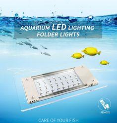 Flexibility Is Strong Aquarium LED Lighting Folder Lights