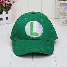23b3e6c7aa0 Anime mario Cosplay plush Super Mario Bros baseball Hat cap luigi mario  wario Waluigi plush Cap