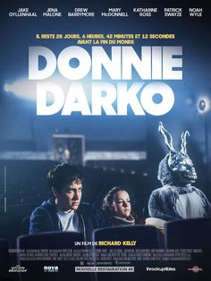 Donnie Darko poster, t-shirt, mouse pad Cinema Tv, Films Cinema, Donnie Darko Poster, Donnie Darko Movie, Donnie Darko Quotes, Fiction Movies, Sci Fi Movies, Good Movies, Indie Movies