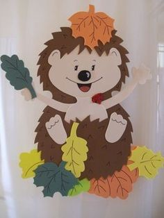 46 x 73 KB) Source by na_talija Kids Crafts, Diy And Crafts, Arts And Crafts, Paper Crafts, Autumn Crafts, Autumn Art, Autumn Leaves, Fall Classroom Decorations, School Decorations