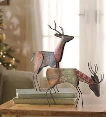 small metal reindeer google search deer statues reindeer decorations christmas decorations red - Metal Reindeer Christmas Decorations