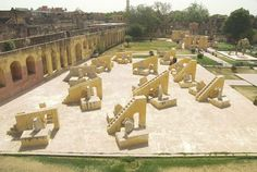 #Jantar-Mantar : This is often the most important and also the best preserved of the 5 observatories designed by Jai Singh II in numerous elements of the country. This observatory consisting of outsize astronomical instruments continues to be in use. Night keep in Jaipur.